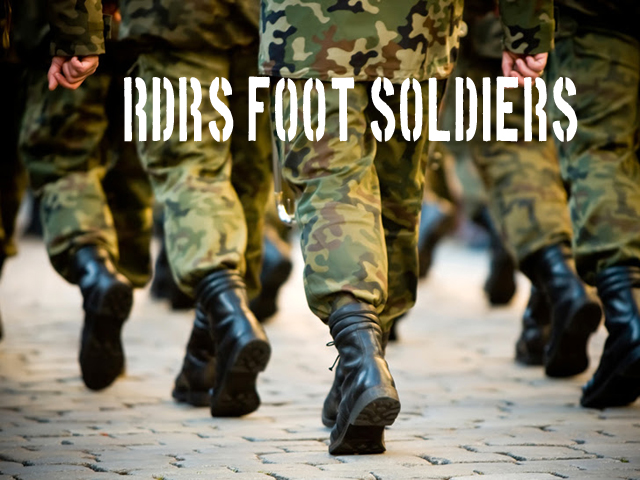 RDRS foot soldiers